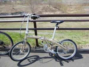 自転車DAHON