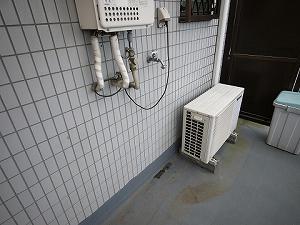 グレースK・R301洗濯機置き場