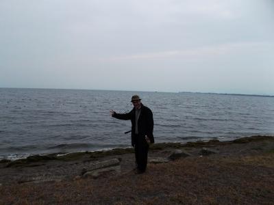 琵琶湖なんだよこれ、海のようだ