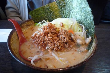 江戸-味噌ラーメン