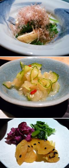 鯛茶-副菜