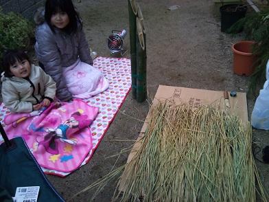 門松作り (4)