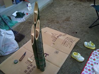 門松作り (3)