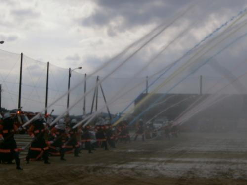 山口市消防出初式