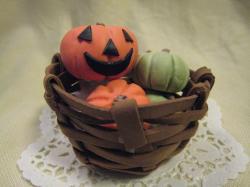かご かぼちゃ