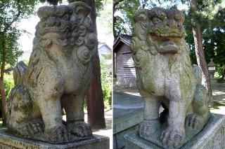 諏訪神社の狛犬