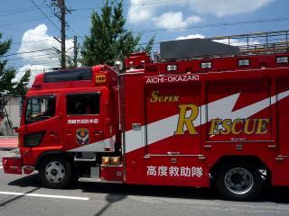 救助工作車