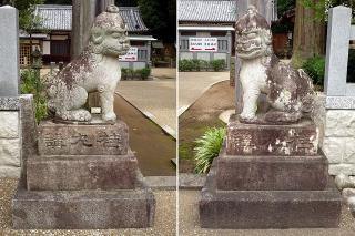足助八幡宮の狛犬