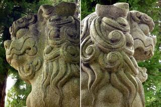 足助神社の狛犬