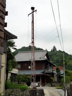 火の見櫓(半鐘台?)