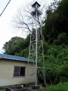岡崎市桑原町の火の見櫓