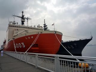 砕氷艦 AGB5003 しらせ