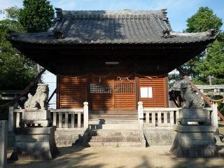 天満社・秋葉神社の狛犬