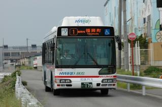 名鉄バス 日野 ブルーリボンシティ ハイブリッドバス