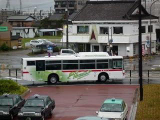 名鉄バス 三菱ふそう エアロスター・エコハイブリッド ノンステップバス
