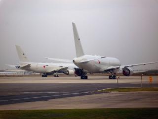 第1輸送航空隊 第404飛行隊 KC-767J空中給油・輸送機