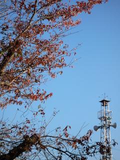 福岡町の火の見櫓
