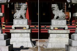 伊賀八幡宮の狛犬