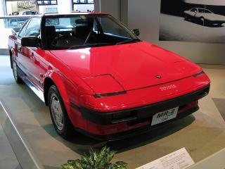 トヨタMR2 AW11型(1984)