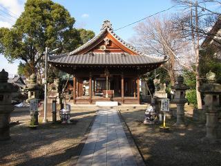 白山神社の狛犬