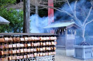 文化財建造物消防訓練