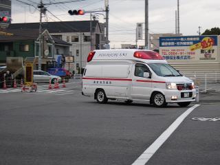 高規格救急自動車 南救急1号車