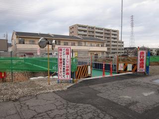 稲荷橋仮設橋