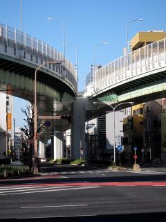 名古屋高速 東片端JCT