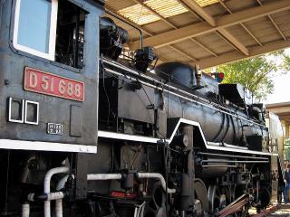 D51 688 蒸気機関車