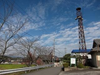 三重県伊賀市上林の火の見櫓
