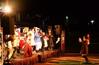 岡崎市シビックセンター イルミネーションコンサート ゴスペルライブ