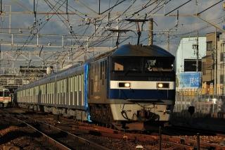 EF510 桃太郎 + 東武60000系 甲種鉄道車両輸送