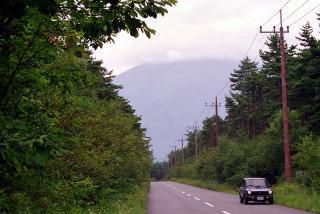 アウトビアンキ A112 アバルト と 見えない富士山