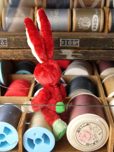 赤いウサギその4