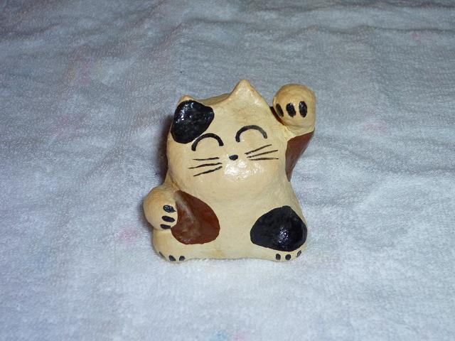 三毛招き猫