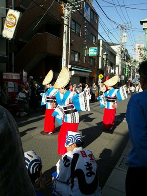 目黒縁日阿波踊り
