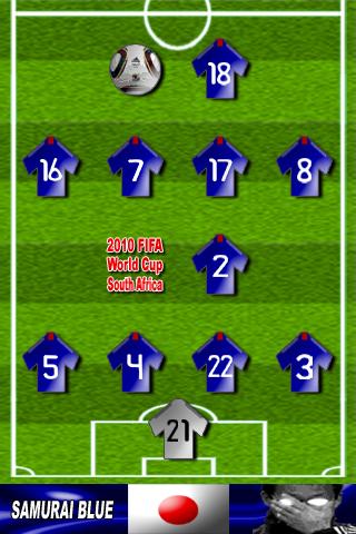 ワールドカップ2010日本代表サムライブルー