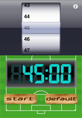 【Sports Timer】スクリーンショット2