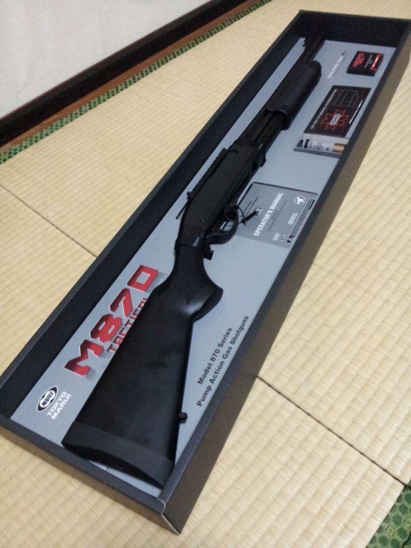 マルイ M870Tac内装