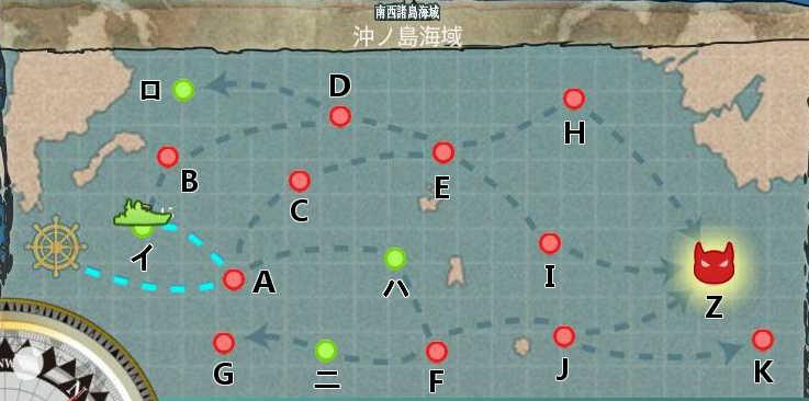 2-4沖ノ島海域図