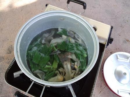 岩魚味噌汁2010,06,04