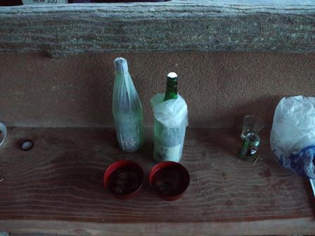 岩魚骨酒2010,06,04