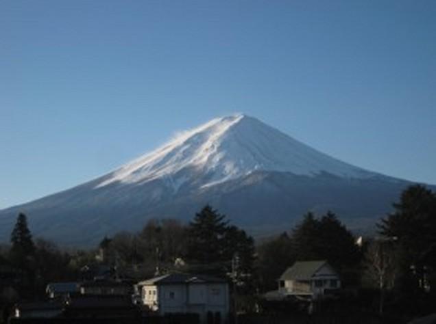 12月23日富士山