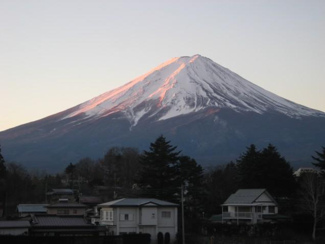12月28日富士山