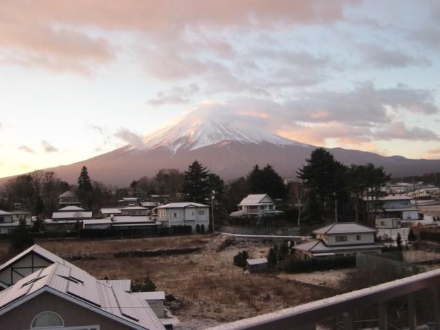 12月29日富士山