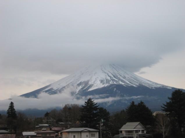 12月30日富士山