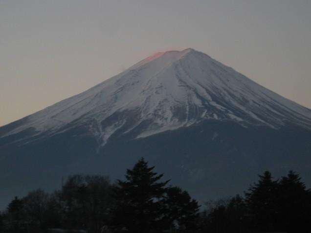 1月12富士山