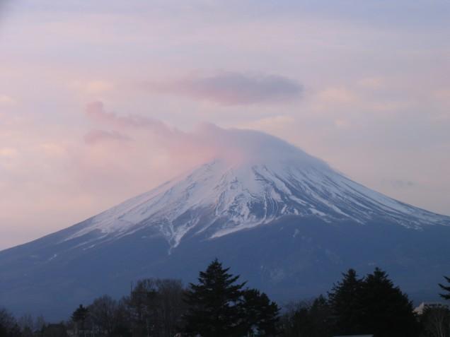 1月15日富士山