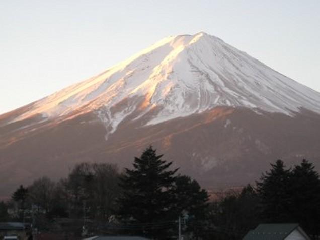 1月18日富士山