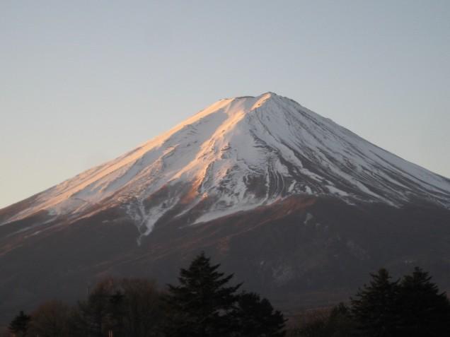 1月19日富士山